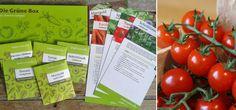 Die Grüne Box: Bio-Samen für dein eigenes Balkongemüse (Fotos: © STADT LAND blüht)
