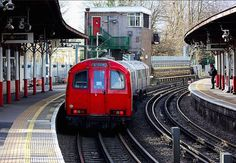 RICKMANSWORTH TUBE STATION | RICKMANSWORTH | THREE RIVERS | HERTFORDSHIRE | ENGLAND: *London Underground: Metropolitan Line* Photo: Chris Baines
