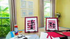 Decorate a baby nursery with @kennethwingard's DIY Silhouette Art! Catch Home and Family weekdays at 10/9c on Hallmark Channel!