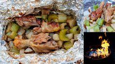 carolynn's recipe box: Campfire Chicken Dinner