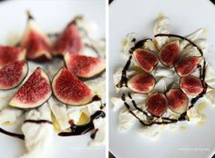 Figs, Mozzarella, Olive Oil and Balsamico - Recipe