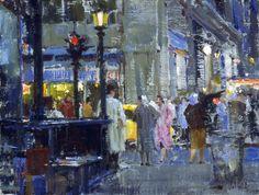 NW Corner of 8th & Broadway, Richard Schmid