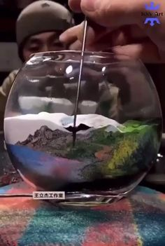 Cool Illusions, Oddly Satisfying Videos, Christmas Drawing, Mason Jar Crafts, Cool Paintings, Mind Blown, Pretty Pictures, Diy Art, Amazing Art