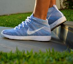 (WHENEVER) - I don't know what color. Nike Flyknit Chukka. It'd be nice to have workout shoes.