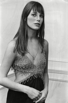 Jane Birkin photographed at the premiere of Wonderwall, 1969