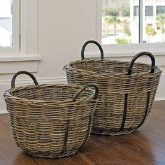 Kubu Round Baskets