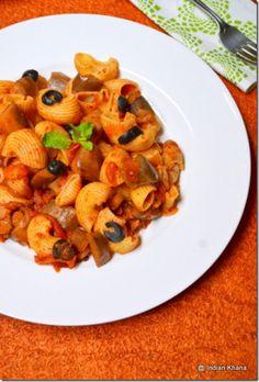 Eggplant Pomodoro Pasta Recipe