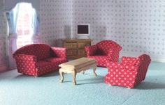 The Dolls House Emporium Sitting Room Set 5 Pcs for sale online Living Room, Furniture, Room, Living Room Sets, Home Furniture, Room Set, Sitting Room, Doll House, Furnishings