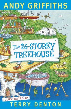 The 26-Storey Treehouse by Andy Griffiths    Order on JBO: https://www.bennett.com.au/secure/JBO5/QuickSearch.aspx?Search=9781742611273=ISBN