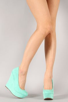 Walk for miles in these wedges!