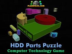 HDD Parts Puzzle