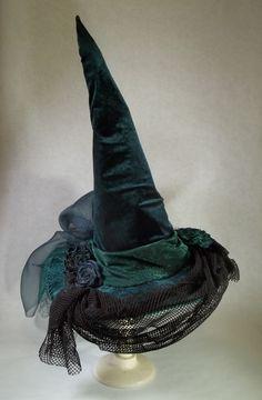 Witch Hat  Costume  Cosplay  Millinery  Irish by ferdworthi