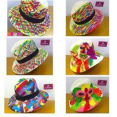 En estos carnavales no te quedes sin tu sombrero carnavalero únicos y los más de la cuidad !!! Pintados y decorados ! Llámanos o ven por el tuyo #carnavaldebarranquilla #carnavalfashion #carnavalencoloriarte #carnaval2016 #barranquilla #comenzaron #coloriarte #quienloviveesquienlogoza #enganchatepagoza #unasolagozadera #quilladcarnaval @coloriarte @coloriarte @coloriarte Painted Hats, Baby Bonnets, Airbrush Art, Travel Wardrobe, Custom Hats, Kids Hats, Summer Hats, Spring Day, Baby Sewing