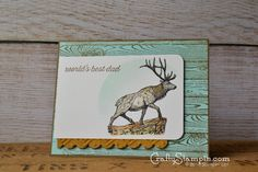 Father's Day Blog Hop   Crafty Stampin