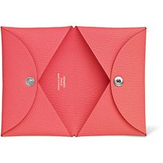Small Leather Goods Hermès Card Cases ($295) ❤ liked on Polyvore