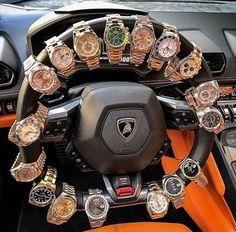 Rolex Steering wheel 🔥 lamborghini rolex me Rich Lifestyle, Luxury Lifestyle, Lifestyle Fashion, Lifestyle Trends, Lifestyle Blog, Cool Watches, Rolex Watches, Wrist Watches, Billionaire Lifestyle