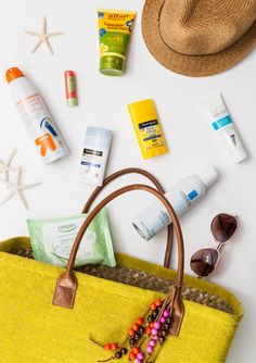 Sun Allergy // Sunscreen check: sheer sticks, spray, natural and anti-aging. Yep!