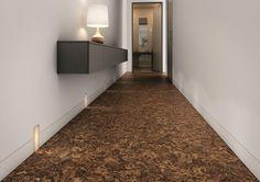 cork floor and lighting idea.  BuildDirect: Cork Flooring Cork Floor Tile   Porto Collection   Estrela