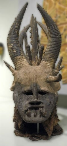 Igbo Mgbedike Helmet Mask, Nigeria