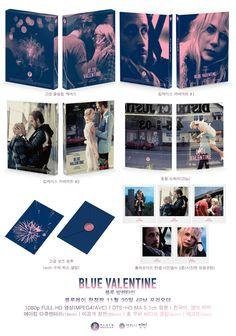 알라딘: [블루레이] 블루 발렌타인: 1,500장 넘버링 한정판 - 풀슬립케이스 + 킵케이스커버아트(2종) + 중철소책자(20p) + 고급굿즈봉투 + 사진엽서(5종)