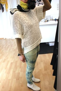 My new Designer Remix pullover with my DIY Cheap Monday Jeans. Cheap Monday Jeans, News Design, Pullover, My Style, Sweaters, Diy, Fashion, Moda, Bricolage