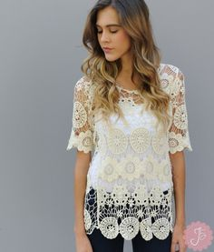 LOVE the creamy #lace!! Can't wait to get mine. #journeyfive