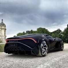 "Nathan, @spg.001 on Instagram: ""𝑳𝒂 𝑽𝒐𝒊𝒕𝒖𝒓𝒆 𝑵𝒐𝒊𝒓𝒆 🖤 -  The most expensive new car in the world at the moment 🗺️ what do you think about this amazing Black beauty? Enough…"" Bugatti Cars, Bugatti Veyron, Ferrari Car, Lamborghini, Fast Sports Cars, Exotic Sports Cars, Luxury Car Brands, Best Luxury Cars, Rims For Cars"