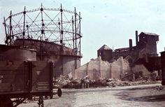 Magyar Vagon- és Gépgyár az 1944 július 2-i bombázás után. Louvre, Building, Travel, Viajes, Buildings, Destinations, Traveling, Trips, Construction