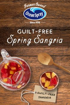 Guilt-Free Sangria Planning a party in May? We've got great Guilt-free Sangria recipe for your May Soiree. Alcohol Drink Recipes, Punch Recipes, Ww Recipes, Cooking Recipes, Cooking Food, Fruit Drinks, Healthy Drinks, Healthy Snacks, Holiday Drinks