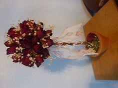 Dried rose topiary II