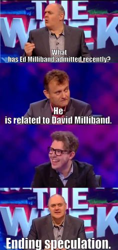 Mock the Week on Ed Milliband - qm stories & news.