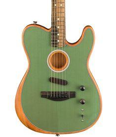 Fender Acoustasonic Telecaster Surf Green