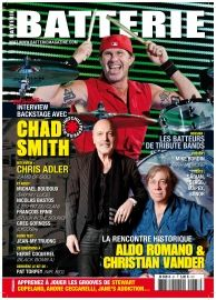 Batterie 87 : Chad Smith (Red Hot Chili Peppers)  Chris Adler (Lamb of God)  Stuck in the Sound  Michael Boudoux (Shy'm / Luce / M Pokora)  Christian Vander / Aldo Romano  Nicolas Bastos (L'esprit du Clan) Greg Gornoss (Lycosia)  Hervé Coquerel (Loudblast) Jean-My Truong Pat Torpey (Mr Big) Drum Business : Jacky Bourbasquet-Pichard (Hohner SA) Mike Bordin (Faith No More) Kit Mapex Saturn Limited Edition Cymbales Sabian Vault Artisan Caisse claire Gretsch G4164 Solid Steel