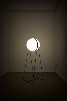 Stefan Djurovic; 'Luna' Floor Lamp for Lanterna, 2013.
