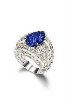 Piaget Mediterranean Garden Sapphire Ring