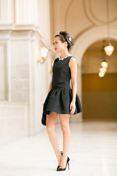 Little Black Dress :: Flare dress