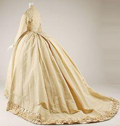 Ensemble Emile Pingat  (French, active 1860–96)  Date: 1866–68 Culture: French Medium: silk. Sideway back