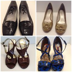 For sale on eBay: Anne Klein, Nine West. Dollhouse & much more. Please go to Fashion Boutique 29. Thank you.