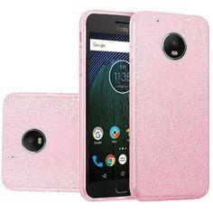Insten Hard Snap-on Glitter Case Cover For Motorola Moto G5 Plus #2364288