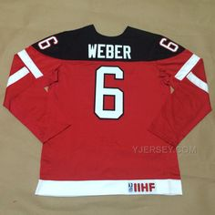 http://www.yjersey.com/hot-canada-6-weber-red-100th-celebration-jerseys.html HOT CANADA 6 WEBER RED 100TH CELEBRATION JERSEYS Only $50.00 , Free Shipping!