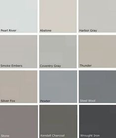 My Office Remodel.On a Very Tight Budget- My Office Remodel…On a Very Tight Budget Benjamin Moore Storm Wall Colors, House Colors, Paint Colours, Grey Colors, Concrete Paint Colors, Hgtv Paint Colors, Color Paints, Popular Paint Colors, Red Colour