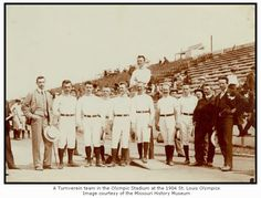A Turnverein Team at the 1904 Olympics