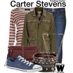 Inspired by Kathryn Prescott as Carter Stevens on Finding Carter.