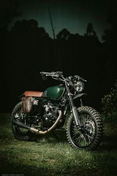 Custom Hanway Scrambler, 125cc, Portugal custom bike