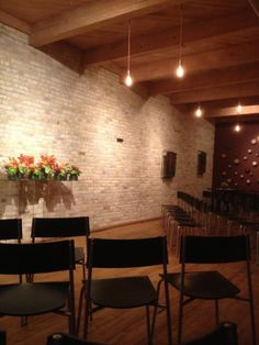 Wedding ceremony for 60 guests at Swig Milwaukee