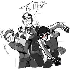 Keith is done with Lance's crap #4 - Shiro, Lance, Keith