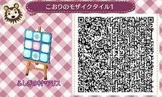 *☆petit four chocolat☆* *マイデザ*氷のモザイクタイル。4種類。