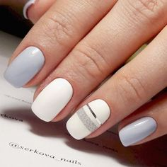 Squoval nails are something in between square and oval shapes. Nevertheless, they are pretty trendy these days. We have gathered the trendiest ideas to try out altogether with the new shape. #nails #nailart #naildesign