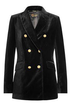 Seafarer Velvet Blazer In Black Velvet Blazer, Velvet Jacket, Seafarer, Polyvore Outfits, Fashion Boutique, Blazer Jacket, My Style, Black Velvet, Clothes