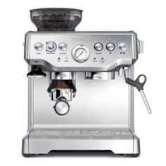 Breville BES870XL Barista Express Automatic Espresso Machine Grinder - Great Feedback - 8+ years in business - fast shipping #machine #grinder #espresso #automatic #barista #express #breville